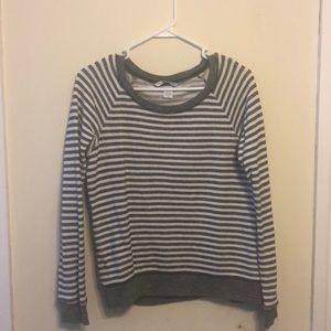 Gray&white sweater